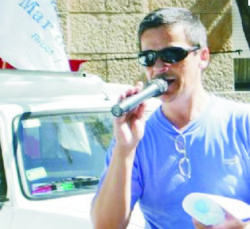 Axel Zarate Ex Secretario Gremial de Luz y Fuerza Mar del Plata